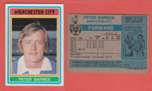 Manchester City Peter Barnes England 281